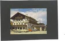 """AK Hotel """"Schmied von Kochel"""" Lk. Bad Tölz-Wolfratshausen Auto Union DKW? Opel"""