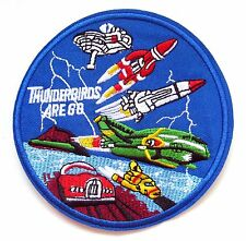 Thunderbirds Iron On Patch- TV Sci-Fi Embroidered Appliques Crafts Sew