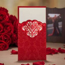 50 Red Romantic Wedding Party Invitation Card Envelope Seal Birthday Party Decor