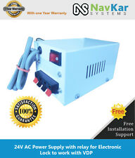 24V AC Power Supply with relay for Electronic Lock to work with VDP