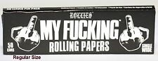 Rolling Paper Rollies My F**king Rolling Paper Regul Size One Sleeve 20mm x 75mm