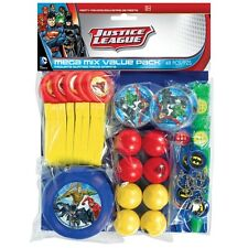 HUGE PACK 48 Justice League Party Favours Loot Bag Fillers Super Hero Party