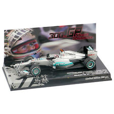"Michael Schumacher 1:43 Mercedes GP Petronas W03 "" 300th GP Spa 2012 "" 413120307"