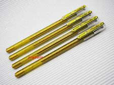 4 x 1 Pen 2 Colors (Gold Ink) Pentel K110 Hybrid Dual Metallic 1.0mm Gel Pen
