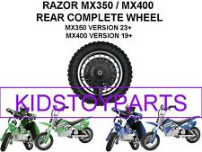 NEW! Razor DIRT ROCKET BIKE MX350 V23+  Rear Wheels Assembly