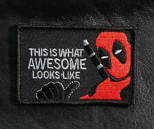 THIS IS WHAT Awesome Looks Like DEADPOOL TACTICAL MORALE PATCH