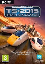 TS 2015 Train Simulator PC DVD - New and Sealed