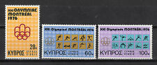 CYPRUS 1976 MONTREAL OLYMPIC GAMES MNH