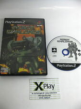 PS2 Robot Warlords Pal UK no manual Envio combinable