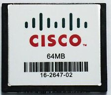 MEM2800-64CF= 64MB CF Flash Memory Card for CISCO 2801 2811 2821 2851 Genuine