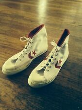 Vtg Converse ABA Hi Top Sneaker Shoes. 1970's Size 10 1/2 Made In USA