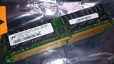 8GB 4 x 2GB Micron Technology DDR1 PC3200R 400MHz CL3 ECC Reg  Server-RAM