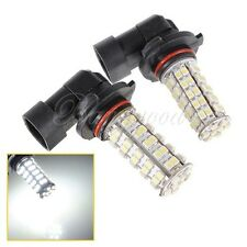 2x HB3 9005 68 LED 1210 SMD Car Fog Light Bulb Driving Lamp Pure White DC 12V