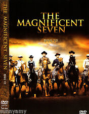 The Magnificent Seven / 7 - Yul Brynner Steve McQueen - Classic Western DVD NEW