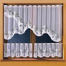 Set di cucina cortina netta-disegno floreale