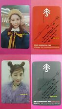 Lot of 2 TTS SEOHYUN Official Photocard Dear Santa RED GREEN TaeTiSeo SNSD 서현