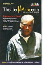 TheaterMania December 2002 Richard Dreyfuss The Exonerated Russell Simmons