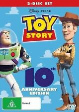TOY STORY 10th Anniversary Edition DVD R4 NEW - PAL