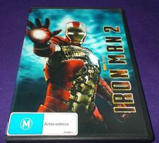 IRON MAN 2 DVD 2 DISC SET 3D / LENTICULAR COVER VGC MARVEL ROBERT DOWNEY JR.