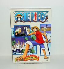 COFFRET 3 DVD VIDEO ONE PIECE DAVY BACK FIGHT VOL 1 EPISODES 196 A 206