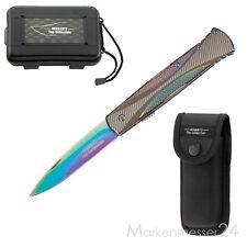 Herbertz Rainbow Gentlemen Knife klassisches legales Taschen-Messer +Etui +Box