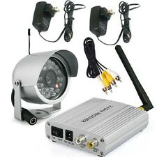 2.4G Wireless Home Security Video System w/ 24LEDs IR Night Outdoor CCTV Camera