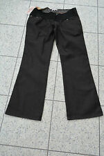 NEW Mamas and Papas M&P Black Jeans Under Bump Straight Leg Size 12 Short RRP£40