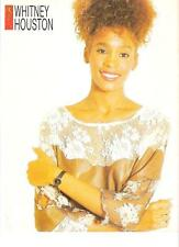 WHITNEY HOUSTON hair pinned up magazine PHOTO / Pin Up /Poster 11x8""