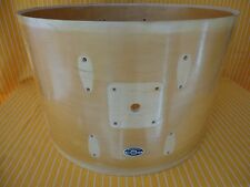 """1970s VINTAGE SLINGERLAND 22"""" x14"""" BASS DRUM MAPLE SHELL + B/S BADGE MADE IN USA"""