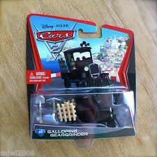 Disney PIXAR Cars 2 GALLOPING GEARGRINDER #41 diecast VERY HARD TO FIND train