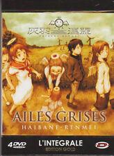 DVD AILES GRISES coffret GOLD intégrale 4 DVD manga anime 13 épisodes