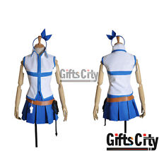 Fairy Tail Lucy Heartfilia Uniform Clothing Cosplay Costume