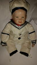 Yolanda Bello Matthew porcelain sailor boy, doll Ashton Drake