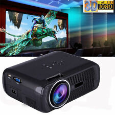 3000 Lumens FULL HD 1080P Home Cinema Theater LED LCD 3D Projector HDMI 1280x800