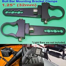 1.25 inch Tube Bull Bar/Roll Bar Mount Bracket Clamps for Off Road LED Light Bar