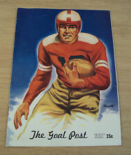 "1945 FOOTBALL Program~""St. Mary's GAELS vs U.C.L.A. BRUINS""~'The GOAL POST'~"