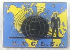 Man From Uncle - U.N.C.L.E. 1960's Television Spy Series - Enamel Pin