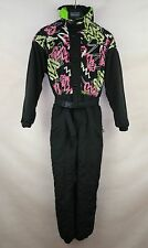 ALPIN VINTAGE RETRO UNISEX SKI SUIT ONE PIECE  size 164 ALL IN ONE SNOW SUIT