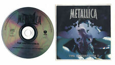 Cd PROMO METALLICA The unforgiven II - Promotional 1998 Cds single Reload