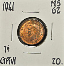 1941 Canada One Cent MS-62