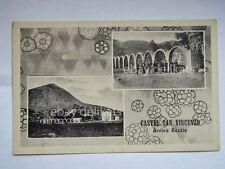 CASTEL SAN VINCENZO Antica Bazzia Isernia vecchia cartolina