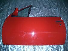 Tür Opel Kadett E Cabrio links rot komplett !!