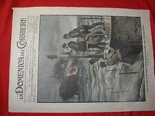 La domenica del corriere 1918 n. 3 pirateria tedesca nave-ospedale REWA bristol