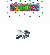 "Gymboree Girls ""We Have Arrived"" Collection Mary Jane Socks Two-Pack New 3-6m"