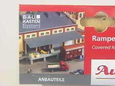 Laderampe mit Dach -   Set  für Gebäude Eingenbauten  - Auhagen HO 80254 #E