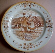 Tulowice P T Poland Collectors Plate NORMANDIE