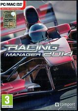RACING MANAGER 2014 - PC - ITALIANO - Nuovo! - idea regalo!