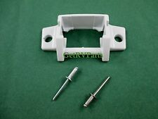 A&E 3310811009B RV Awning Lower Arm Bracket Foot White