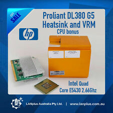 HP Genuine Heatsink VRM + Intel CPU E5430 Quad Core 2.66Ghz 4 Proliant DL380 G5