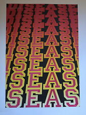 BEN EINE, 'Disease' signed limited edition poster, Dont Panic 2010